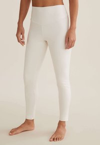 OYSHO - COMFORTLUX  - Leggings - white - 0