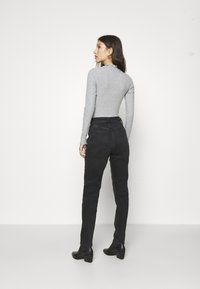 New Look - TURTLE NECK BODY - Long sleeved top - mid grey - 2