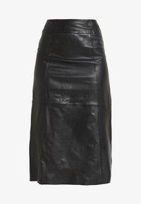 Selected Femme Tall - SLFARDEE SKIRT - Áčková sukně - black - 4