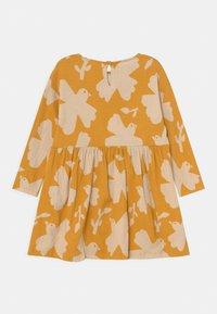 Lindex - MINI DRESS LOOSE FIT - Jersey dress - dark dusty yellow - 1
