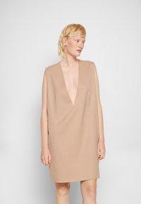 MM6 Maison Margiela - DRESS - Cocktail dress / Party dress - nude - 0