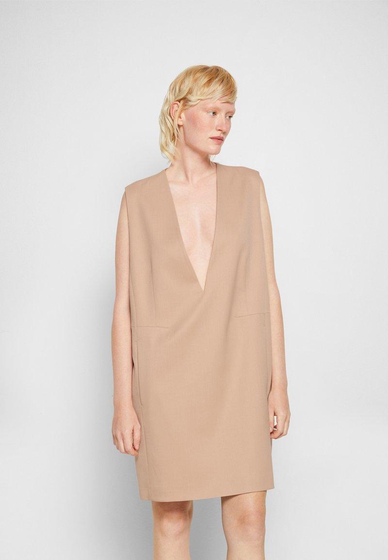 MM6 Maison Margiela - DRESS - Cocktail dress / Party dress - nude