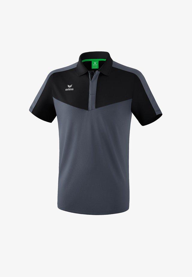 Print T-shirt - schwarzgrau