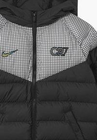 Nike Performance - CR7 PADDED  - Winterjas - black/white/iridescent - 2