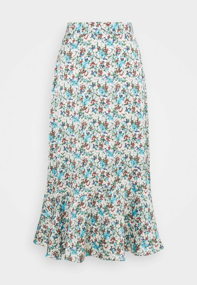 FLOUNCE MIDI SKIRT - Blyantnederdel / pencil skirts - confetti floral