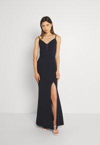 WAL G. - YEMMY MAXI DRESS - Společenské šaty - navy blue - 0