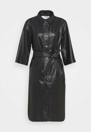 SLFSOLA DRESS - Shirt dress - black