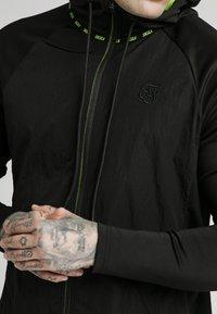 SIKSILK - ADAPT CRUSHED ZIP THROUGH - Summer jacket - black - 3