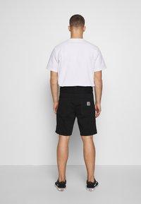 Carhartt WIP - NEWEL MAITLAND - Denim shorts - black rinsed - 2