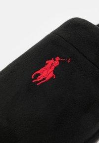 Polo Ralph Lauren - KLARENCE  - Pantuflas - black/red - 5