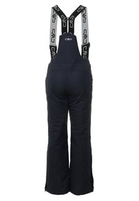 CMP - SALOPETTE UNISEX - Snow pants - black blue