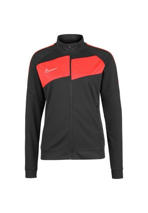 ACADEMY 20 KNIT TRAININGSJACKE DAMEN - Training jacket - anthracite / bright crimson / white