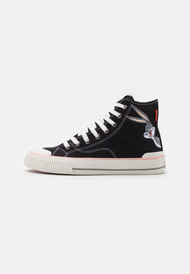 EXCLUSIVE COLLECTOR LOONEY - Sneakers hoog - black