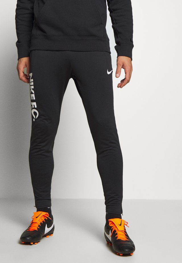 FC PANT - Trainingsbroek - black/white