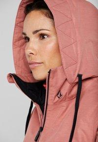 Volcom - FERN INS GORE - Snowboard jacket - mauve - 3