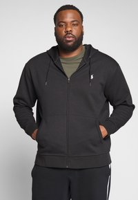 Polo Ralph Lauren Big & Tall - DOUBLE TECH HOOD - Zip-up sweatshirt - black - 0