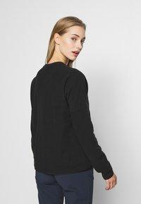 The North Face - WOMENS GLACIER CREW - Fleece jumper - black - 2