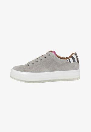 Sneakers laag - grey zebra