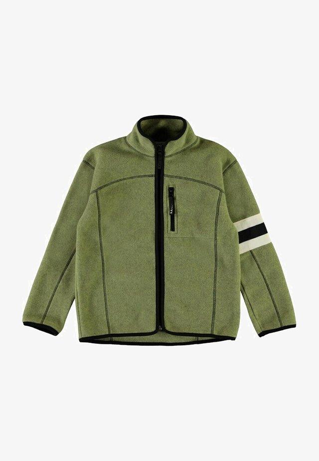 URBANO - Fleecejakker - khaki green