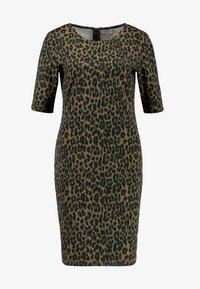 b.young - RIZETTA DRESS - Jersey dress - olive night - 4