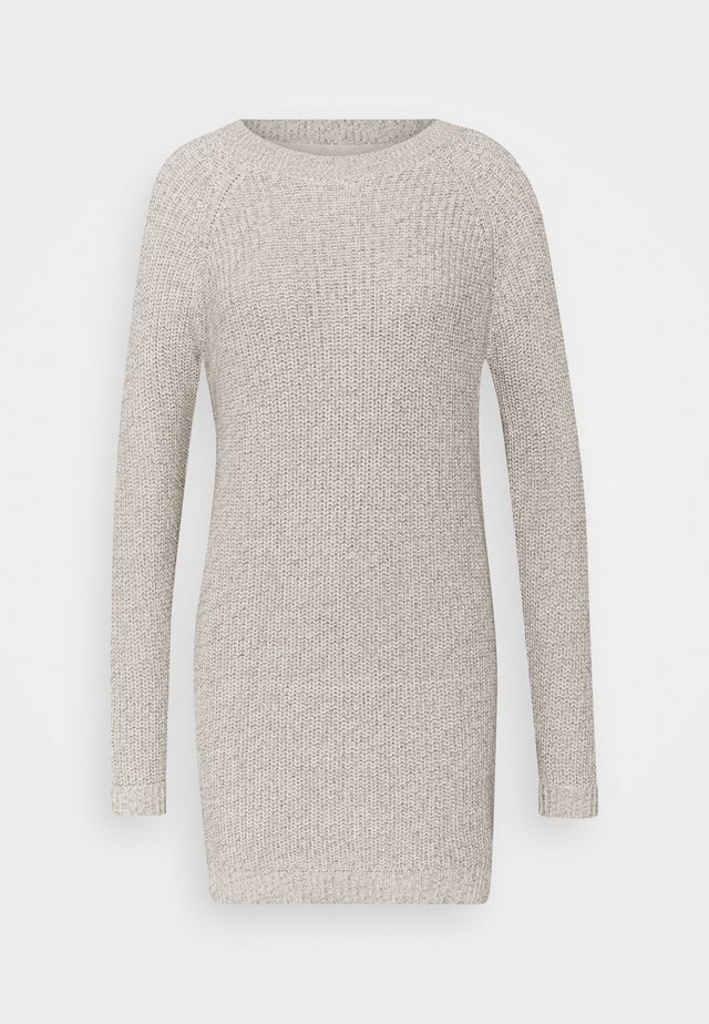 NMSIESTA O NECK DRESS - Jumper dress - oatmeal