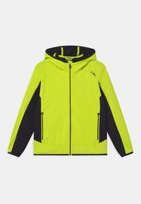 CMP - FIX HOOD UNISEX - Soft shell jacket - limone - 0