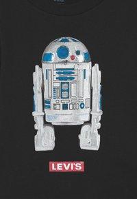 Levi's® - STAR WARS R2D2 UNISEX - Longsleeve - black - 2