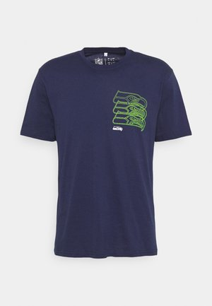 NFL SEATTLE SEAHAWKS CHAIN CORE GRAPHIC  - Club wear - navy