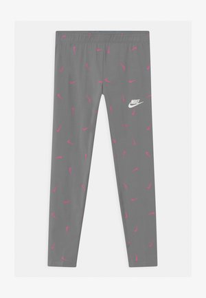 FAVORITES - Leggings - Trousers - smoke grey/pinksicle/white