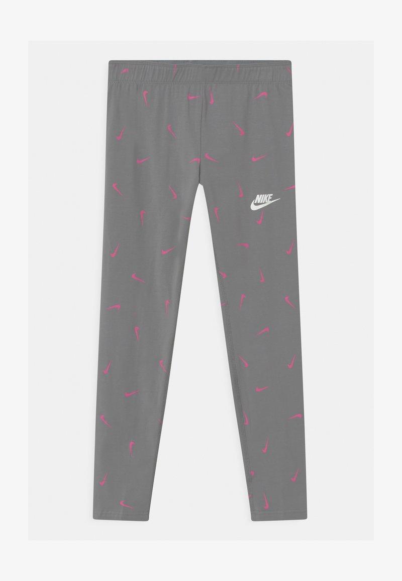 Nike Sportswear - FAVORITES - Leggings - smoke grey/pinksicle/white