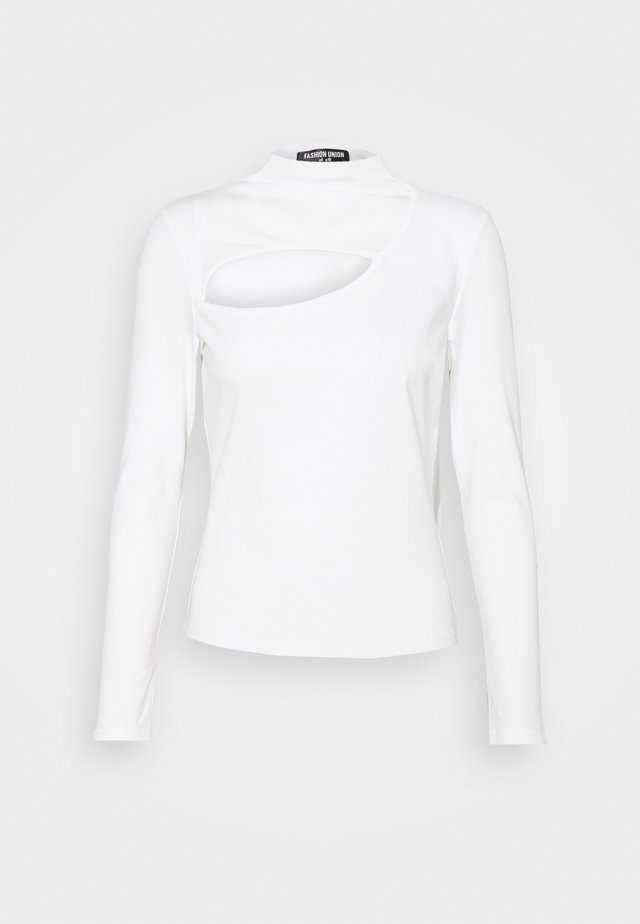 CAMPBELL  - T-shirt à manches longues - white