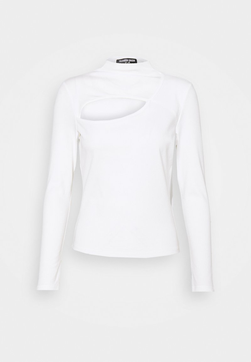 Fashion Union - CAMPBELL  - Long sleeved top - white