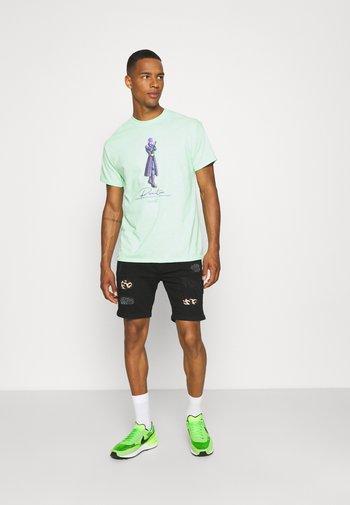 CILLIAN - Denim shorts - charcoal