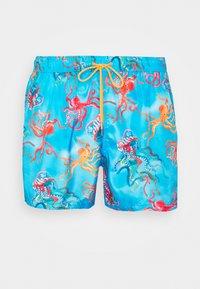 MEN OCTOPUS - Swimming shorts - light blue