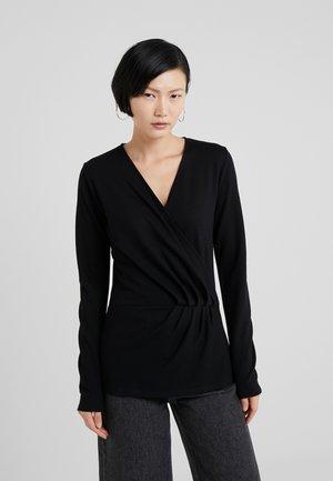 TAMI JENNA - Bluzka z długim rękawem - black