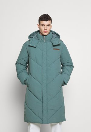EVIAN QUILTED MID LENGTH PUFFER JACKET UNISEX - Winterjas - green