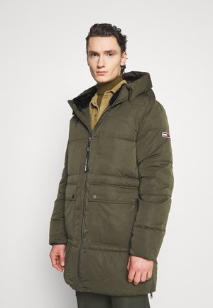 CASUAL PUFFER - Winter coat - dark olive