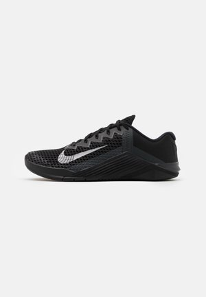 METCON 6 UNISEX - Sports shoes - black/metallic silver/anthracite