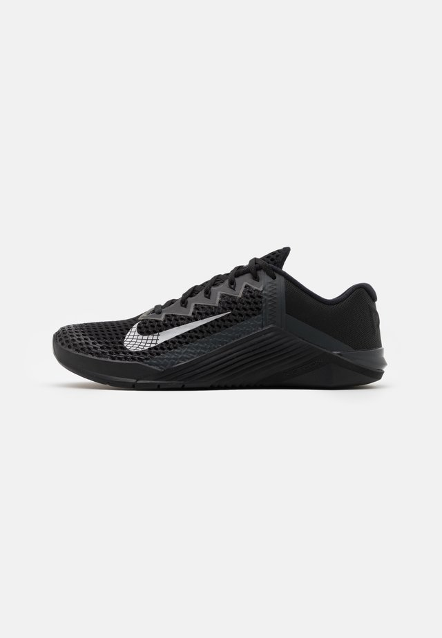 METCON 6 UNISEX - Sports shoes - black/metallic silver/anthracite