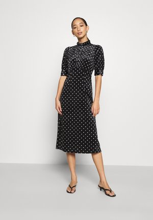YASSELMA LONG DRESS - Day dress - black/silver