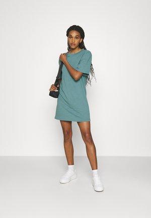 2 PACK - Jersey dress - black/light blue