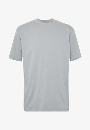 ESSENTIAL SIGNATURE HIGH NECK - T-shirts basic - slate grey