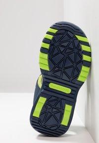 KangaROOS - LOGAN - Walking sandals - dark navy/lime - 5