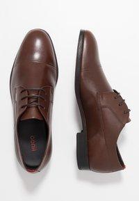 HUGO - Šněrovací boty - medium brown - 1