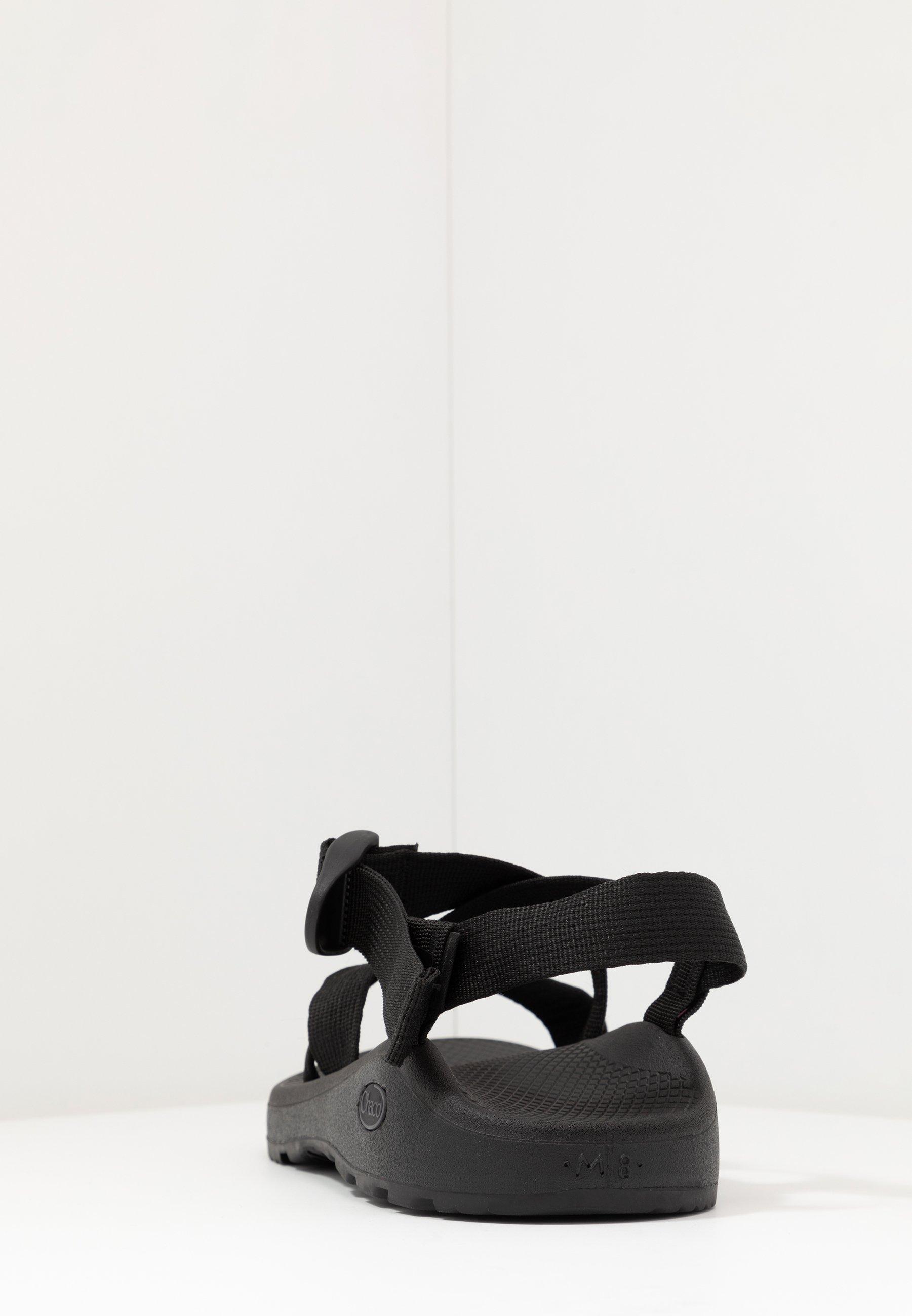 Z CLOUD Vandringssandaler solid black