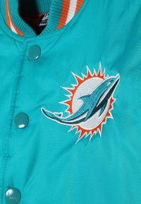 Outerstuff - NFL MIAMI DOLPHINS VARSITY JACKET - Pelipaita - turbogreen/brilliant orange - 4