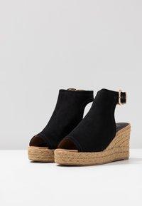 River Island - Højhælede sandaletter / Højhælede sandaler - black - 4