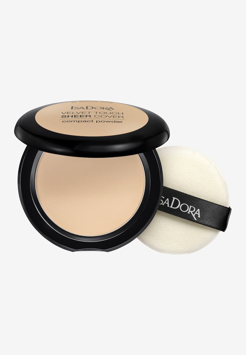 IsaDora - VELVET TOUCH SHEER COVER COMPACT POWDER - Powder - neutral ivory