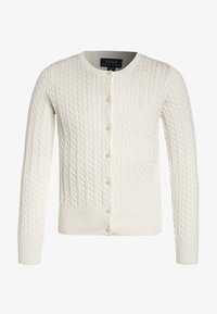 Polo Ralph Lauren - MINI CABLE - Cardigan - warm white - 0
