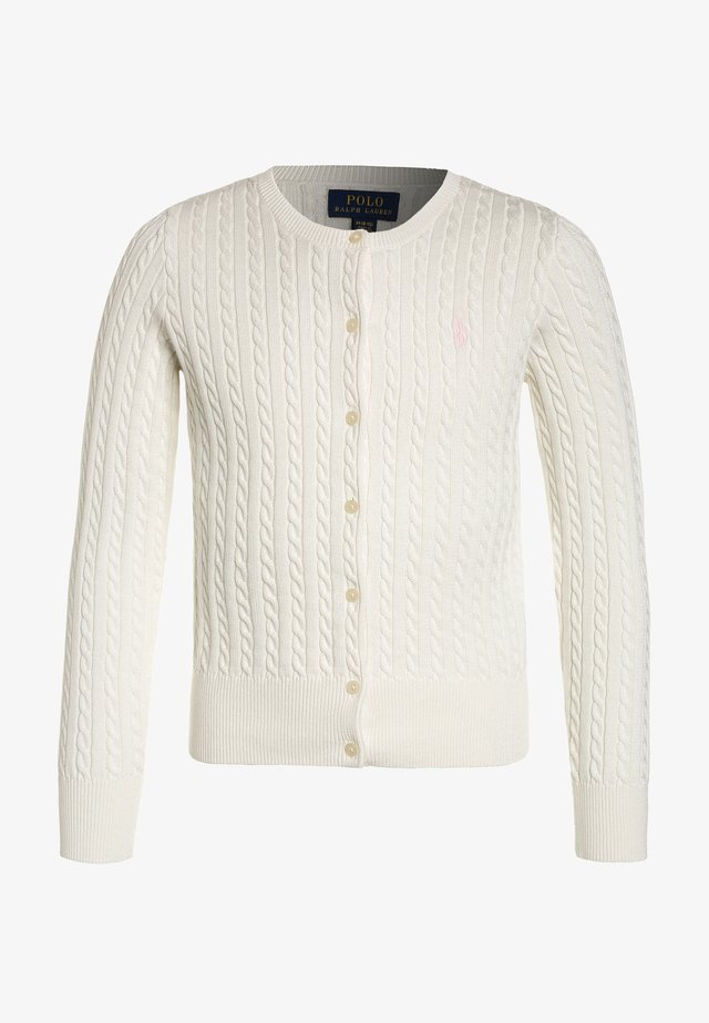 MINI CABLE - Cardigan - warm white